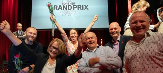 Se over 50 bilder fra Forsker Grand Prix