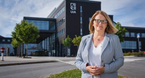 Rektor i Agder seiler opp som ny leder i UHR