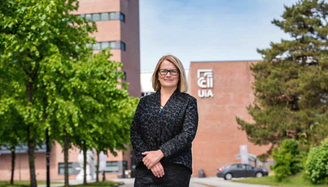 Sunniva Whittaker er valgt til ny leder av Universitets- og høgskolerådet.