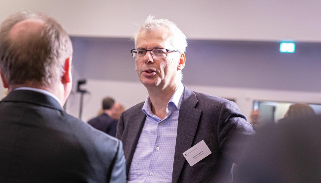 Rektor Øystein Thøgersen ved NHH sier at å svare på spørreundersøkelser fra Financial Times dessverre ser ut til å ha ligget langt nede på prioriteringslisten for mange under koronakrisen.