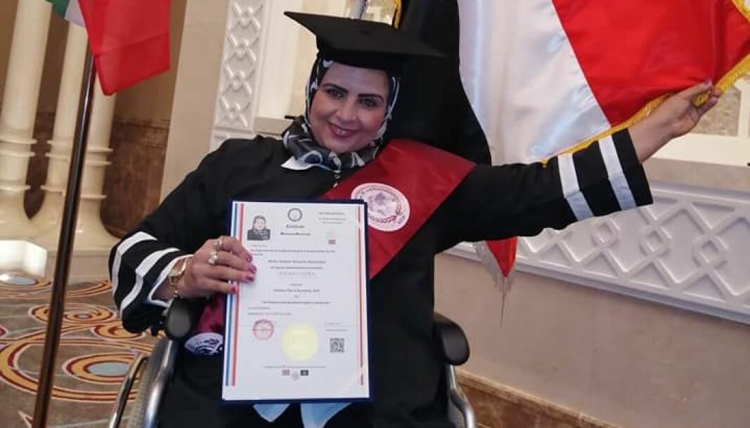 Maha Shaban mottok utnevnelser, blant annet en æresdoktorgrad fra Bay Ridge University for Studies and Research i oktober 2019.