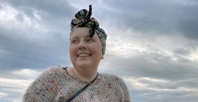 Slik takler hun å være studentleder med kreft