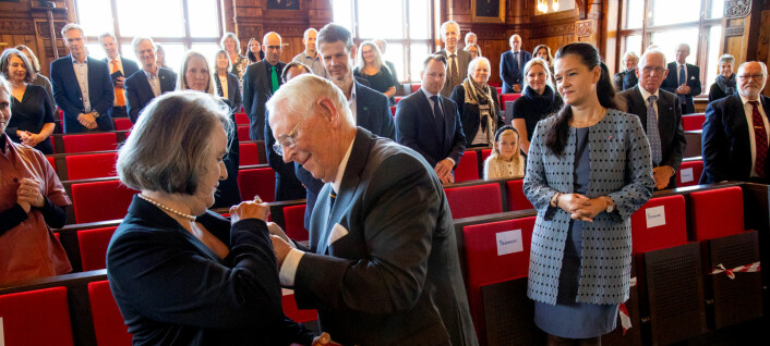 NMBU-professor emerita utnevnt til ridder