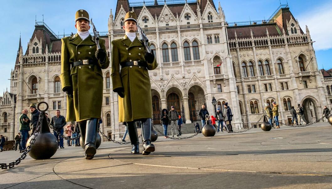 Den omstridte loven ble vedtatt av det ungarske parlamentet i 2017.
