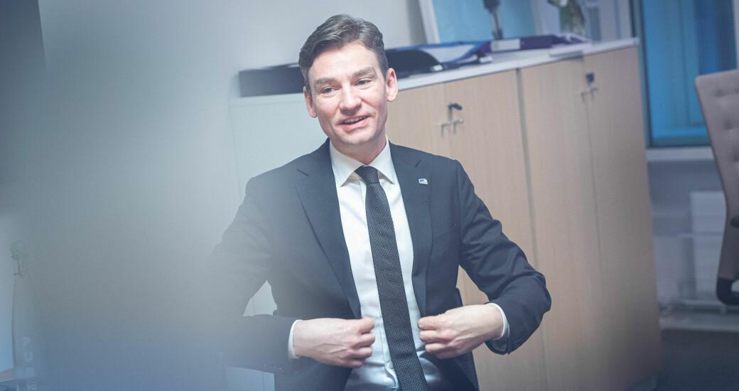 Målet med mobilitetsmeldingen er at vi skal bli mer internasjonale, melder Henrik Asheim.