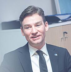 Oslo 2020-01-31- Henrik Asheim, ny statsråd for forskning og høyere utdanning. På Kunnskapsdepartementet. Foto: Siri Øverland Eriksen