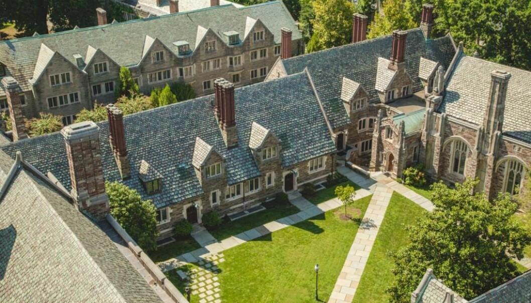 Princeton University avviser å ha diskriminert på grunnlag av kjønn.