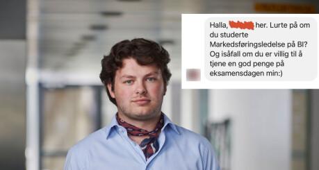 BI-student tilbød NSO-topp penger for eksamenshjelp