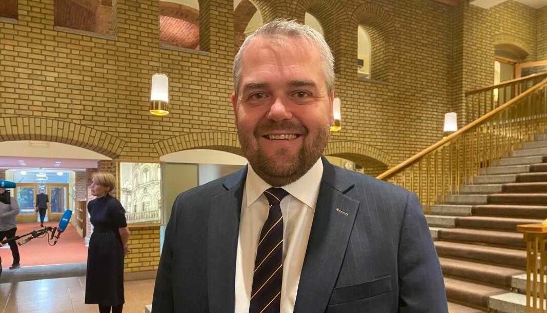 Roy Steffensen (Frp) er skuffet over gavekutt fra regjeringen