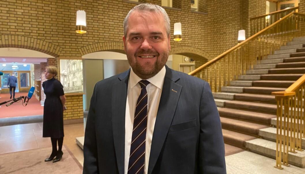Roy Steffensen, mener Arbeidepratiet kritiserer på autopilot og er uansvarlige i sin kritikk av krisepakka for studentene som ble lagt fram fredag.