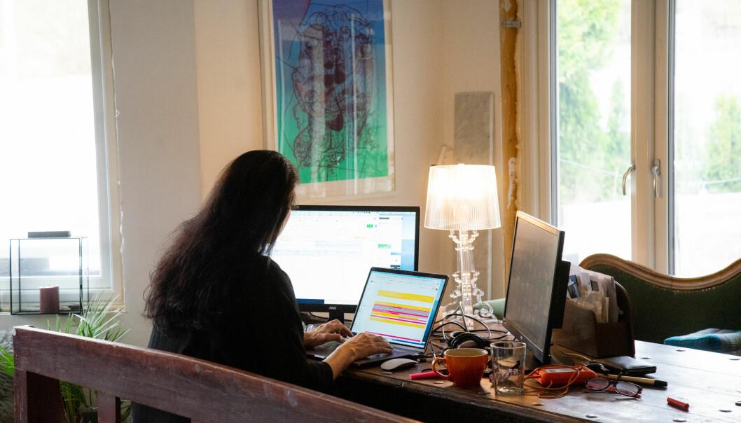 Hjemmekontor har gitt mersmak for flere administrativt ansatte ved høgskoler og universiteter.