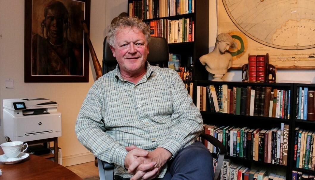 Wiggo Andersen er en historieinteressert gründer fra Fredrikstad. Nå må han kanskje skifte navn på en av foreningene sine.