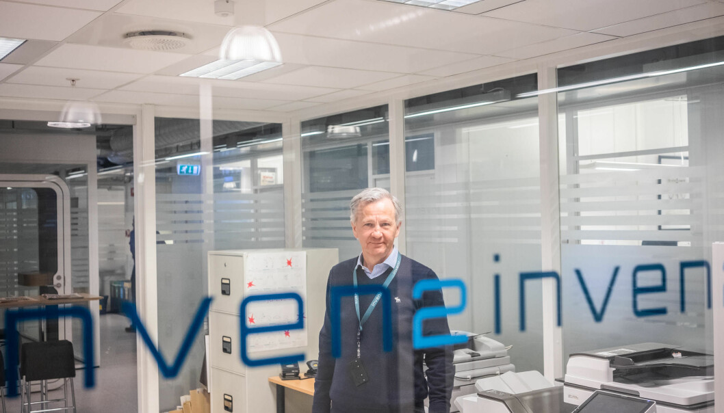 Ole Kristian Hjelstuen, direktør i Inven2 mener patentsøknader i forbindelse med en kommersialisering bør telle mer i forbindelse med en akademisk karriere.