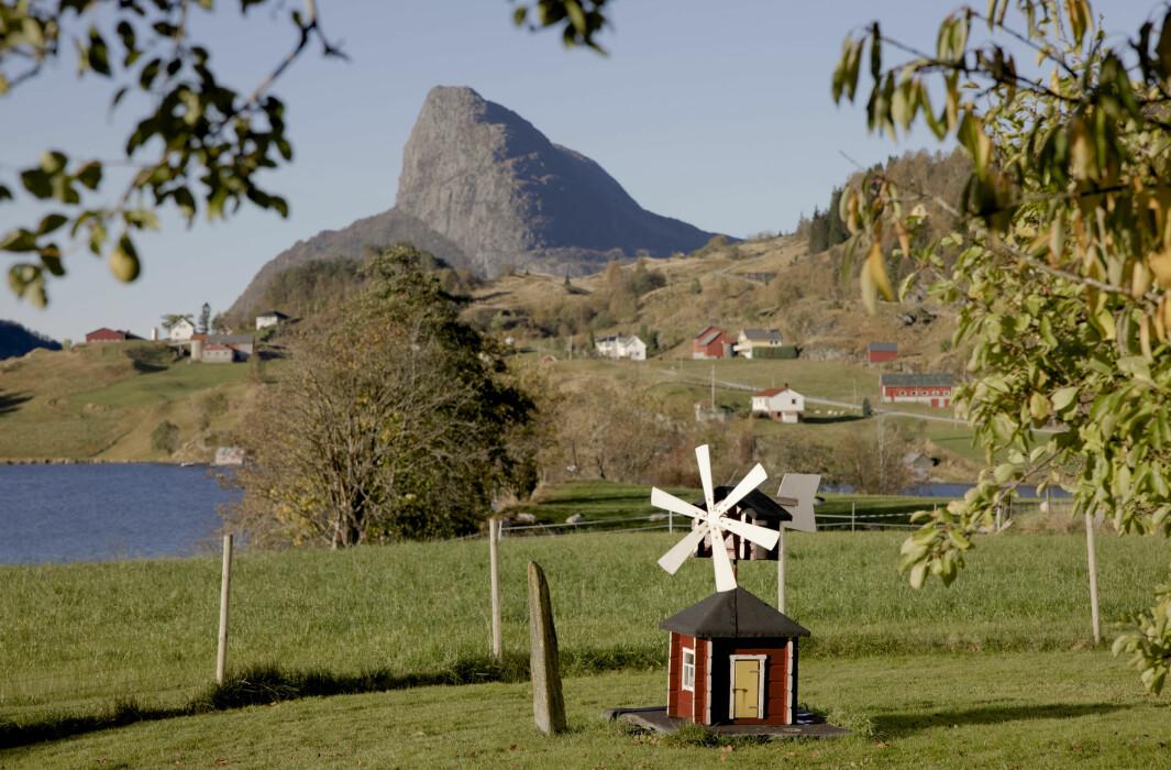 Det ingen skulle tru, der ingen skulle bu. Standnes ligg i Sunnfjord i Vestland, på grensa mellom innlands- og kystklima.