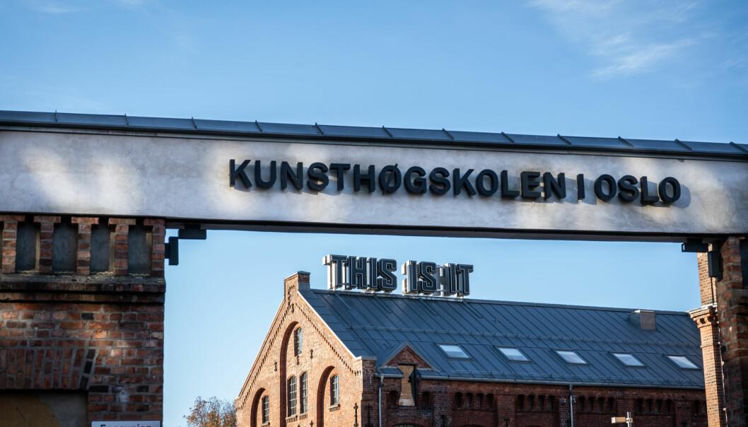 Kunsthøgkolen i Oslo.