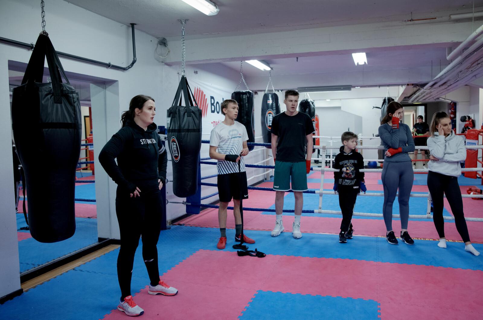 Bodø bokseklubb kan skilte med 23 norgesmeistrar, og fleire kjem det til å bli. Ein av dei er Anne Tjønndal som tok NM-gullet i 60 kg-klassen i 2016.