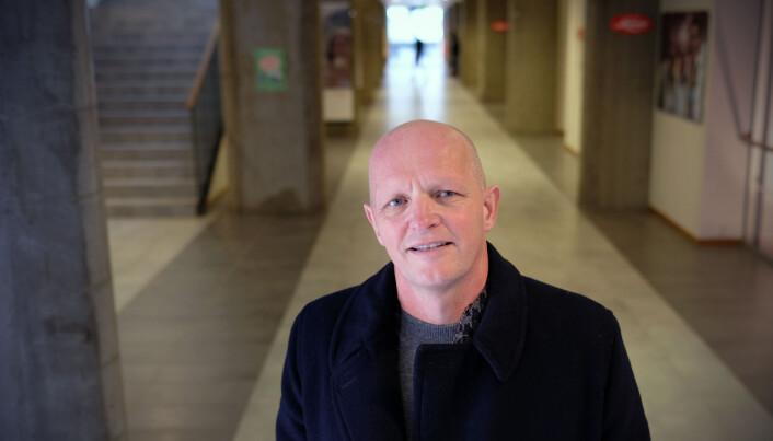Me har ekstra medvit om språkbruk, seier HVL-rektor Gunnar Yttri.