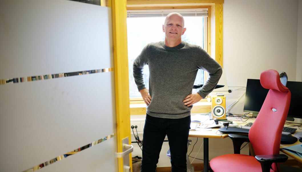 Mange saker på dagsorden for styret ved Høgskulen på Vestlandet og rektor Gunnar Yttri.