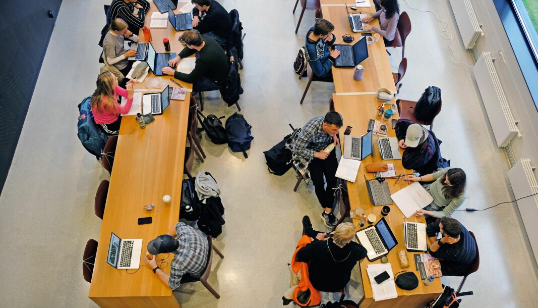 Vi må hjelpe studentene til å finne møteplasser, skriver førsteamanuensis Per Thorvaldsen.