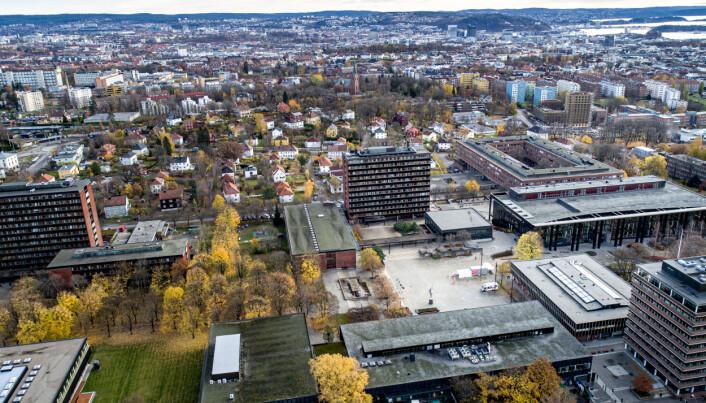 Byuniversitet: Universitetet i Oslo (UiO).