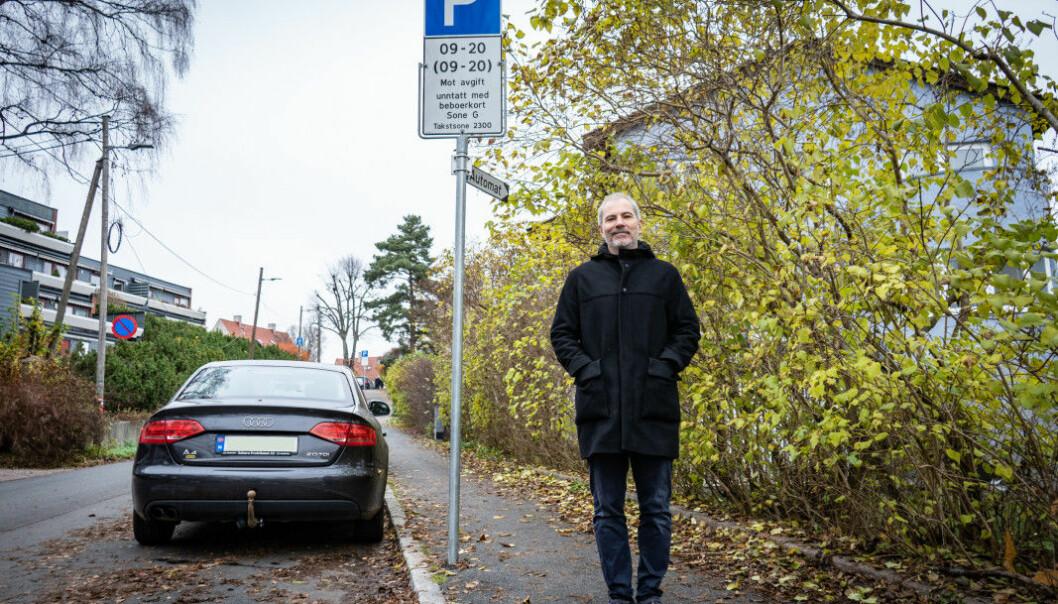 For avgift: Det første universitetene bør gjøre, er å ta betalt for parkering, sier Ulrik Eriksen.