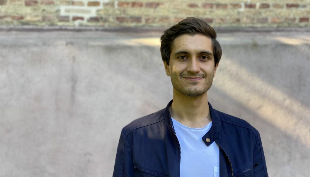 Morgan Alangeh, president i ANSA, organisasjon for norske utenlandsstudenter.