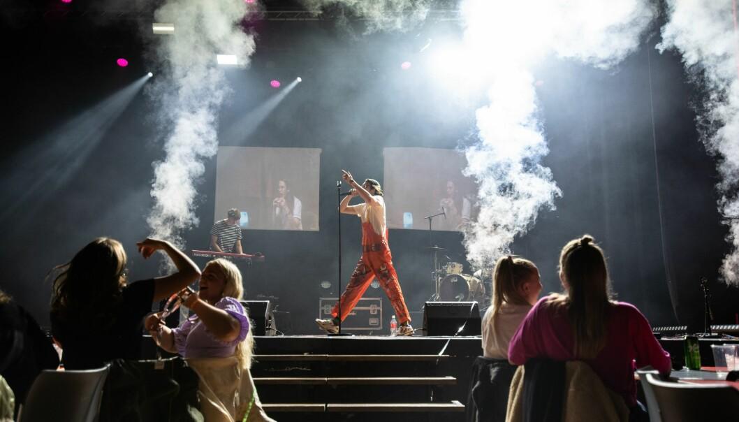 Flere konserter gikk av stabelen under UKA i Ås.