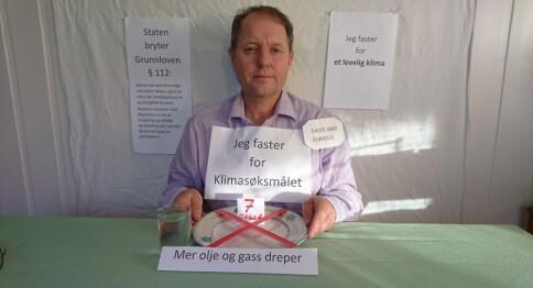 Høgskolelektor faster for klimaet