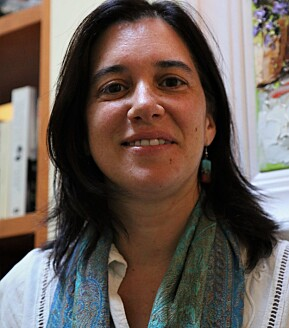 Carolina Amador-Moreno har nett flytta til Bergen frå Spania, saman med ektemann og to barn.