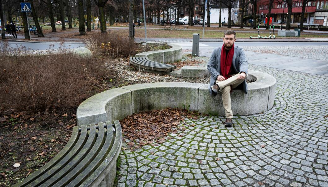 Tom-Daniel Laugerud hadde forventet mer av den digitale undervisningen etter ni måneder med pandemi.