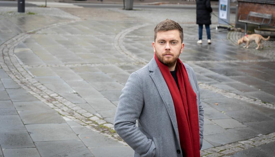 Tom-Daniel Laugerud er student ved Norges Idrettshøgskole. Han er ikke fornøyd med kvaliteten på digital undervisning.