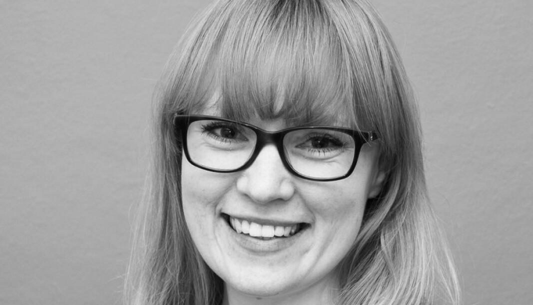 Emma Vestli leder kunnskapsforvaltningen ved Universitetsbiblioteket ved OsloMet.