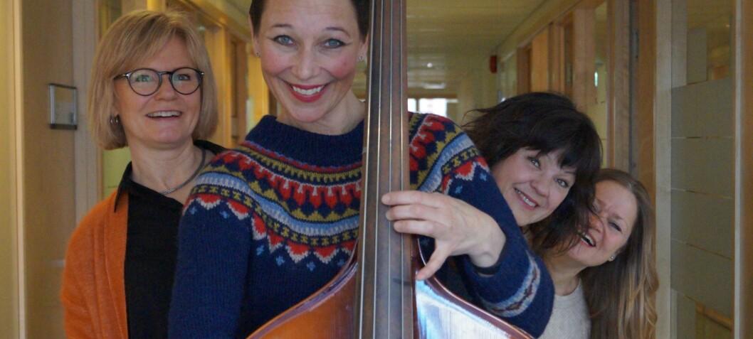 Årets innovatører på OsloMet er sangprosjektet Trall