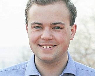 Jens Kristian Øvstebø er ny leder av Liberale studenter