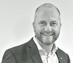 Øyvind Skogvold, direktør i Trøndelag forskning og utvikling.