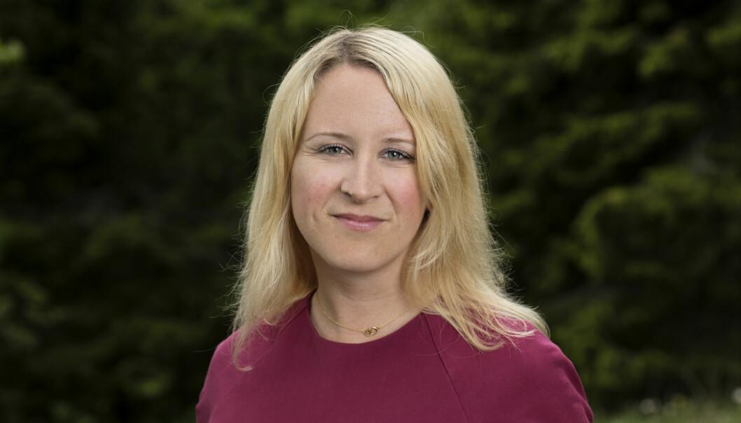 Julie Lødrup, førstesekretær i LO, er ikke overasket over funnene i undersøkelsen, men gleder seg over at høyt utdannede er positive til fagforeninger.