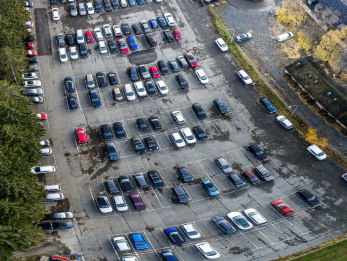 Professorprotest i Oslo mot parkeringsgebyr