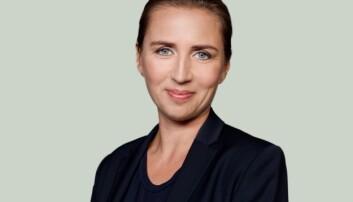 Statsminister Mette Fredriksen i Danmark.