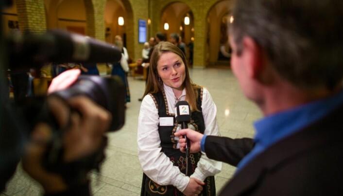 Jenny Myklebust er leiar for Folkeaksjonen for høgare utdanning på Helgeland.