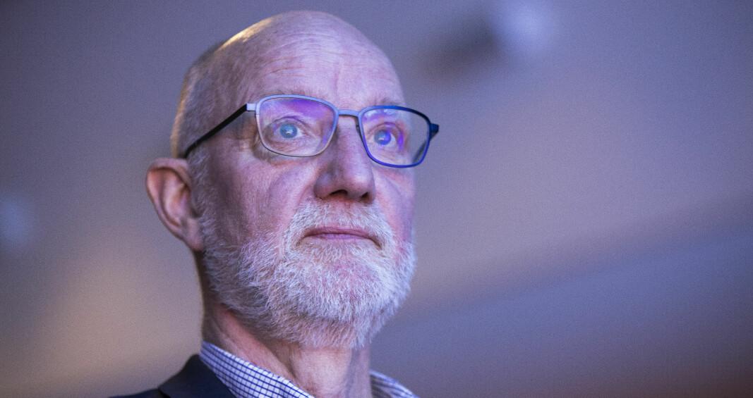 Journalistikk-professoren Sigurd Allern er redaktør for boka om utdanningskampen på Helgeland. Han er sjølv oppvaksen i Sandnessjøen. — Boka er eit direkte innspel i forkant av stortingsvalet i 2021, seier han.