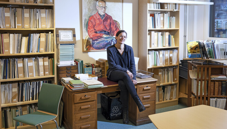 — Jeg føler ikke at jeg er dårligere egnet til å være professor enn andre