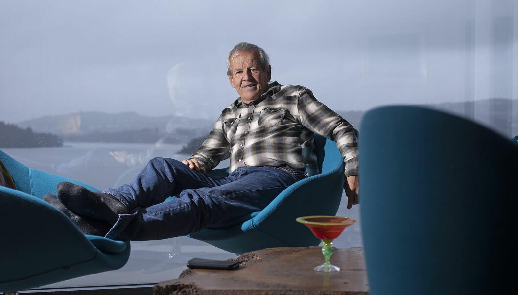 Petter Bjørstad fyller 70 i dag. Den speke 70-åringen har solgt eneboligen og flyttet til leilighet med utsikt over Nordåsvannet i Bergen. Han kommer nok trolig til å jobbe litt fremdeles, men skal også mye ut på tur.