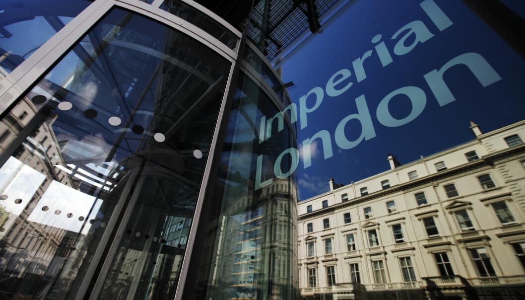 Imperial College London har mottatt rundt halvparten av alle midlene.
