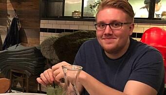 Sykpleierstudent Anders Magnussen.