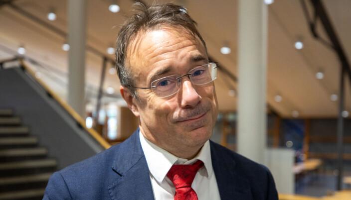 Johann Roppen, rektor ved Høgskulen i Volda.