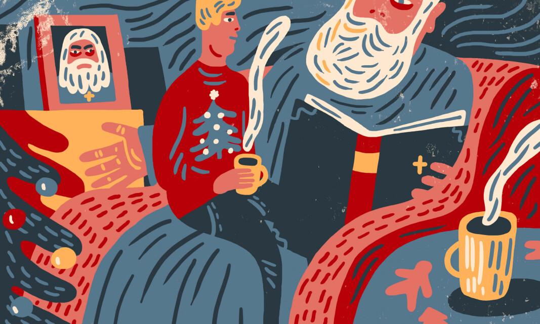 I dag kan du ta julegenseren på og feire fred og kjærleik utan å vere redd for Guds straffedom. Også unge muslimar i Noreg ser på Gud som greiare enn dei gjorde før