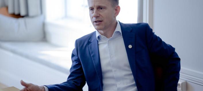Ny direktør om Knudsen-saka: Alvorleg og krevjande