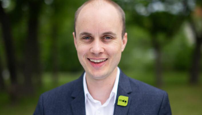 Torkil Vederhus er i dag partisekretær i Miljøpartiet de Grønne