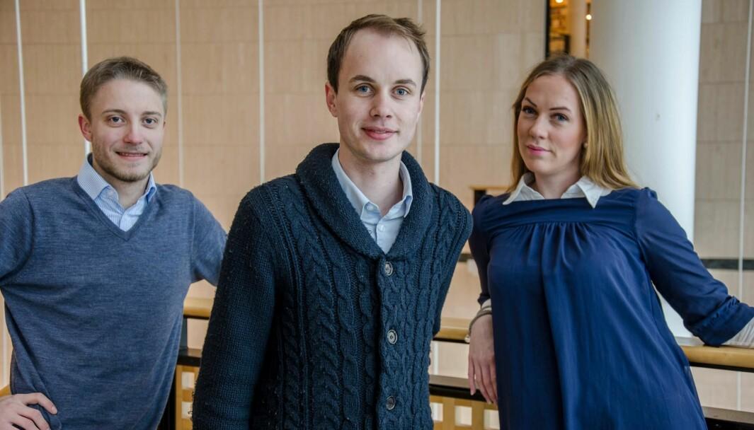 I 2013 stilte daværende student Torkil Vederhus til valg som rektor, sammen med Tobias Langhoff (t.v.) og Sunniva Rose.