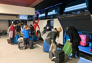 Rett fra flyplassen til karantenehotell